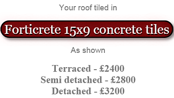 your roof tiled in forticrete
