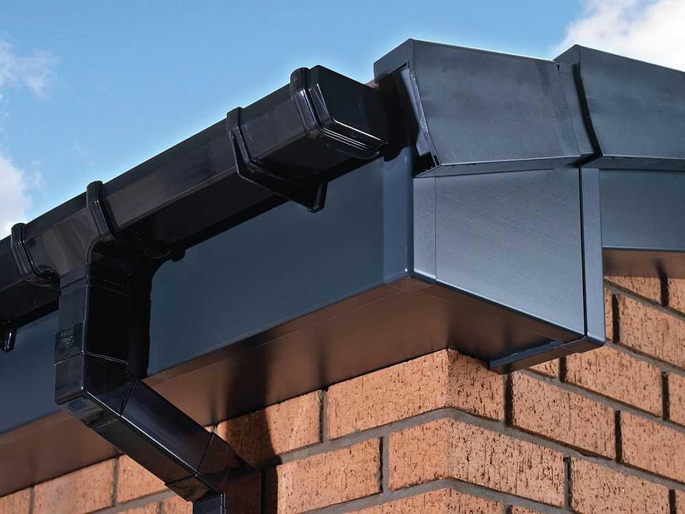 Fascia and guttering servives in Danbury - torch-on felt flat roof