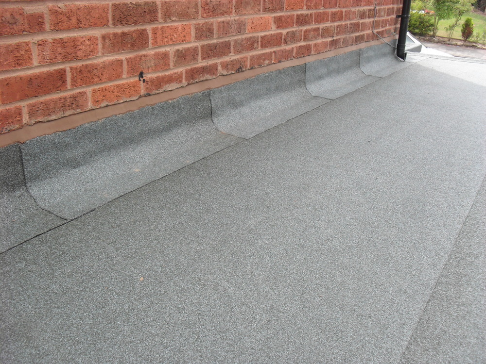 flat roof - torch-on felt flat roof