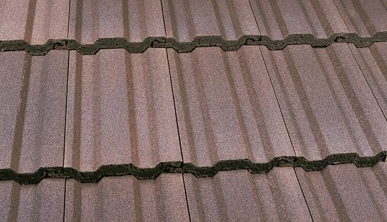 Interlocking Tile Antique Brown
