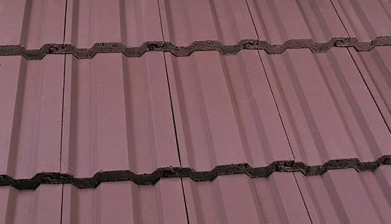 Interlocking Concrete Tile Smooth Brown