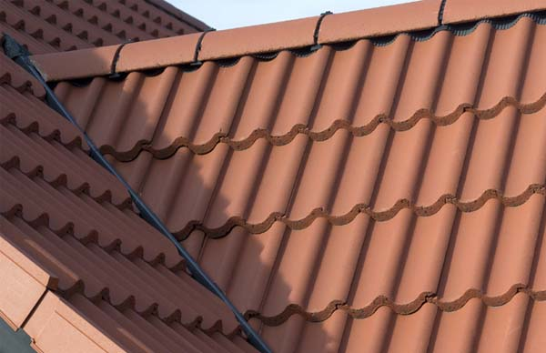 Mendip tiled roof