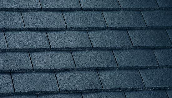 Plain tile anthracite