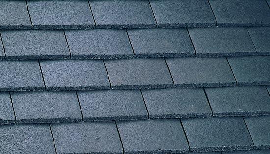 Plain tile smooth grey