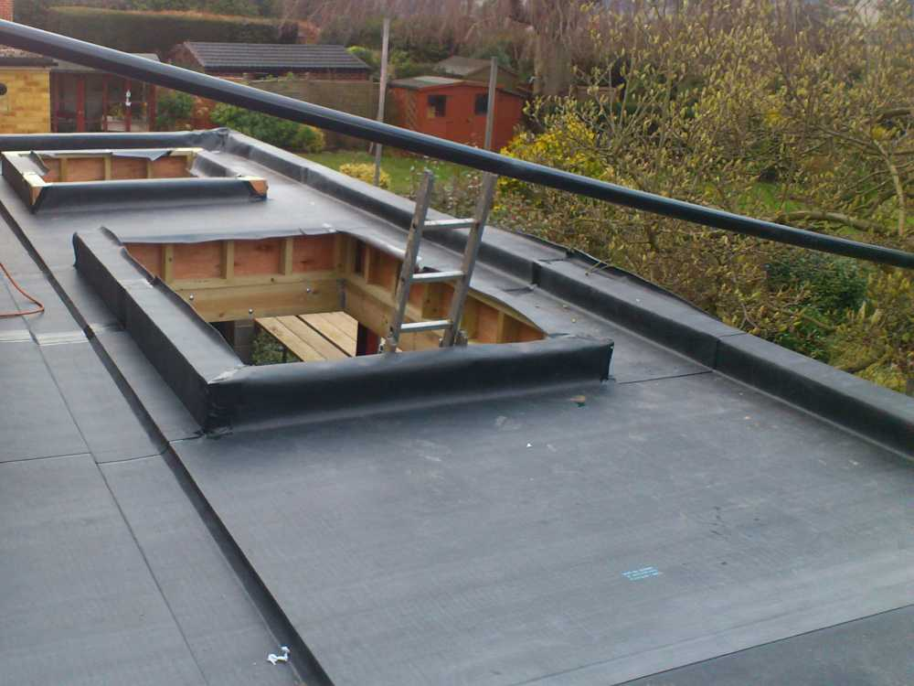 Rubber Roof Installation Cost Company Replacement