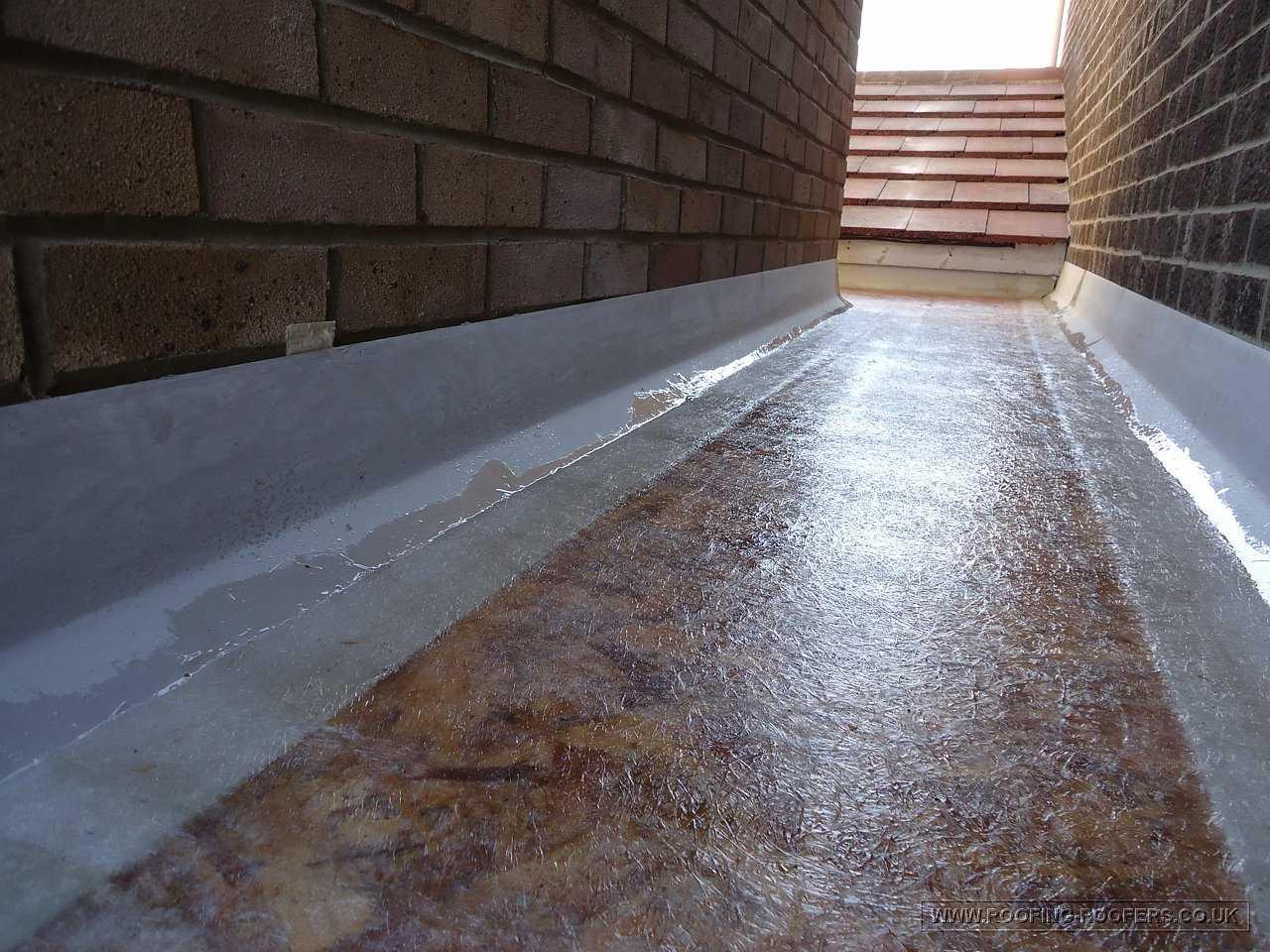 flat roof - torch-on felt flat roof
